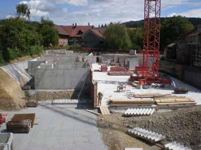 Baustelle Überbauung Oberembrach